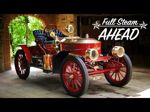 Full Steam Ahead - 1908 Stanley Model K Steam Car