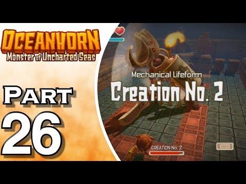 Let's Play Oceanhorn (Gameplay + Walkthrough) Part 26 - Creation No. 2 Boss