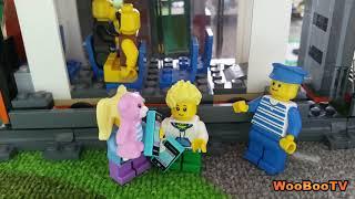 LASTENOHJELMIA SUOMEKSI - Lego city - Sähkökatko - osa 1