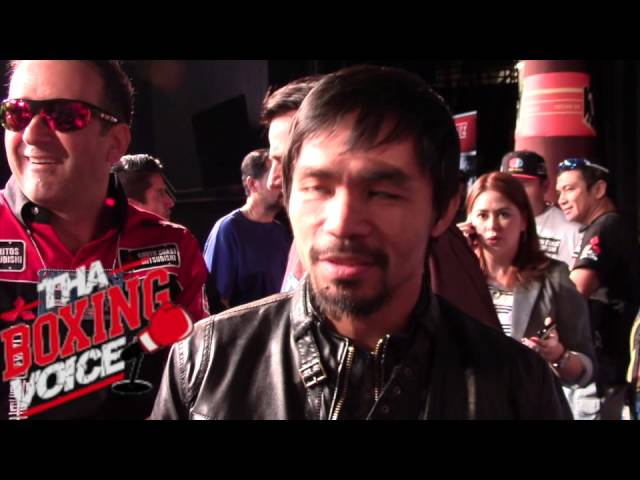 "Pacquiao: ""Bradley not the best I've faced"""