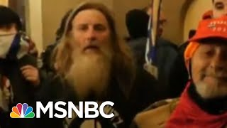 Person Seen Wearing 'Camp Auschwitz' Sweatshirt During Capitol Riot Arrested | MSNBC