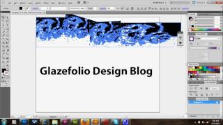 Illustrator Tutorial Distressed Text And Textures | Glazefolio Design Blog