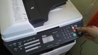 kyocera как делать копию двухстороннего документа