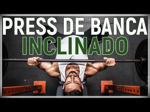¿Cómo hacer el Press de Banca Inclinado con Barra?