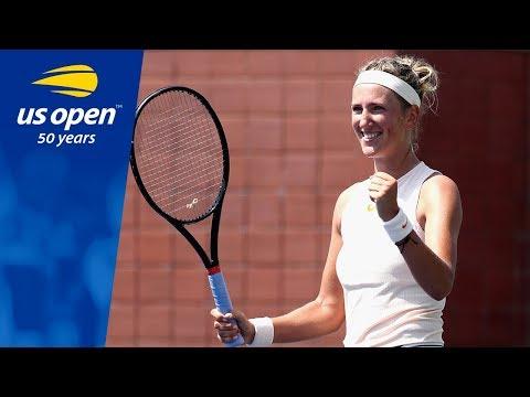 Victoria Azarenka Dazzles on Court 17 to Upset Daria Gavrilova at the 2018 US Open