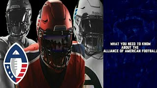 What You Need To Know About The Alliance of American Football