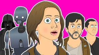 ♪ ROGUE ONE THE MUSICAL - Animated Parody Song