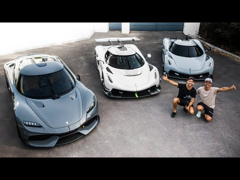 THE LUXURY CAR DREAM! $10,000,000 KOENIGSEGG GEMERA, JESKO, ABSOLUT, REGERA! | VLOG⁵ 4 (Part 2)