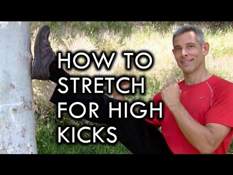 How to Stretch for High Kicks and Flexibility