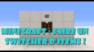 Minecraft : créer un switch de bloc compacte !
