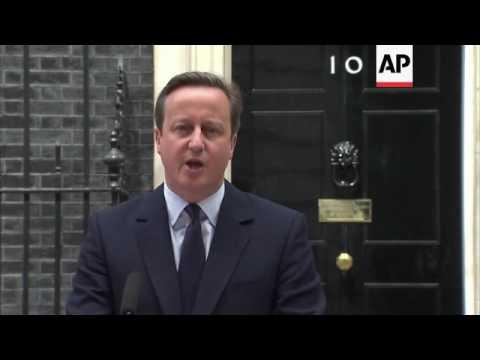 Cameron on Brexit Vote: 'Brits Don't Quit'