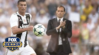 Juventus Manager Max Allegri on Ronaldo: 'He's shown extraordinary things to me.'   FOX SOCCER