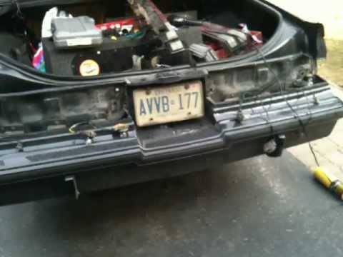 Buick Gn Taillight Wiring Repair Youtube. Buick Gn Taillight Wiring Repair. Buick. 1987 Buick Grand National Wiring At Scoala.co