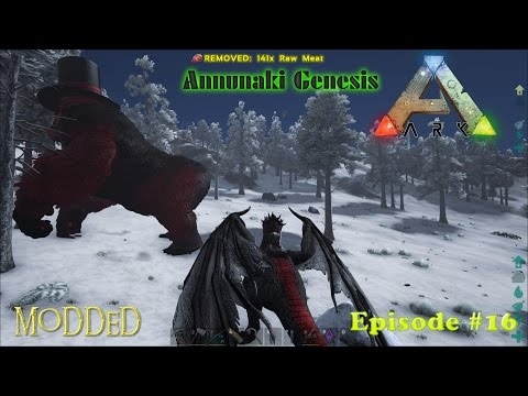 ANNUNAKI GENESIS BOKITO WARDEN OF THE SNOW | ARK: Survival Evolved Ep16 (Modded Valhalla Map)