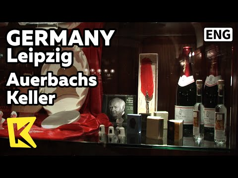 【K】Germany Travel-Leipzig[독일 여행-라이프치히]라이프치히, 괴테 파우스트의 무대가 된 술집/Auerbachs Keller/Pub/Goethe/Faust