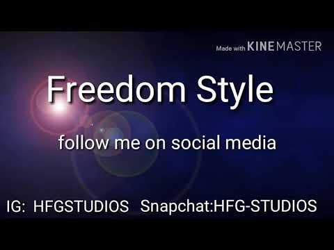 Freedom style rap beat
