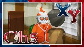 pokmon x and y walkthrough looker chapter 5 a fiery woman and the truth revealed