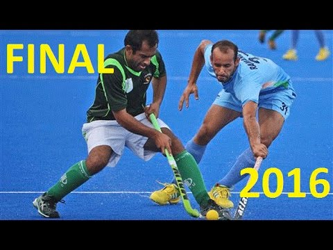 Final India vs Pakistan Hockey Asia Champions Trophy 2016 Full Highlights HD
