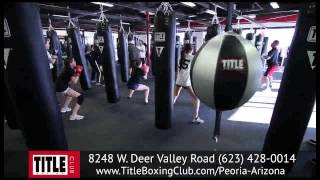 Boxing & Kickboxing Workout Exercises - Check out TITLE Boxing Club Peoria, AZ