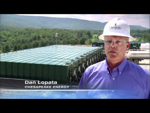 Aqua Renew water recycling in the Marcellus Shale