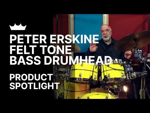 Remo + Peter Erskine: Felt Tone Drumheads