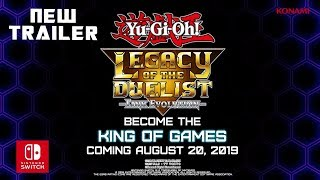 NEW Trailer Yu Gi Oh! Legacy of the Duelist Link Evolution - Gameplay Nintendo Switch HD