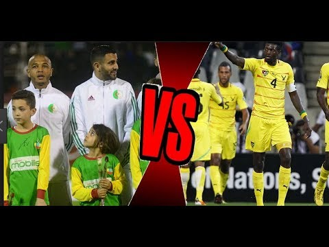 Algérie vs Togo 1-0 Résumé du match Algéria 2017 ملخص مبارة    02