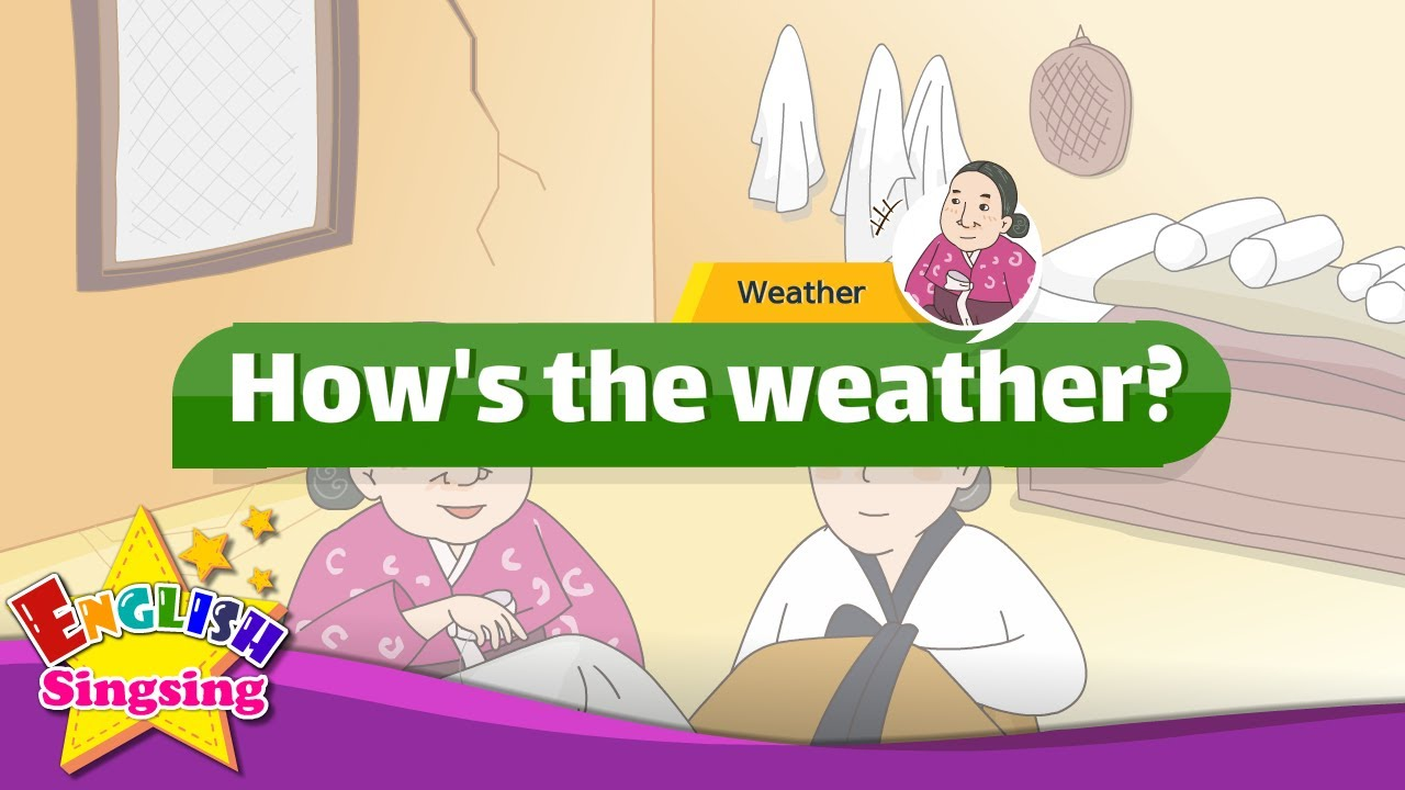 Mother's Love - How's the weather? (Weather) - English cartoon story