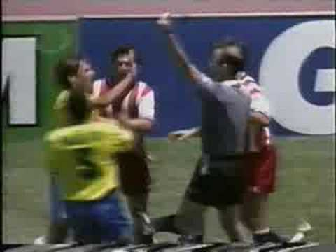 Brazil  1 -- 0  USA  Round of 16 1994 FIFA World Cup