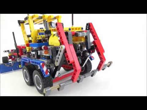 lego technic 42024 container truck b modell stra enhobel. Black Bedroom Furniture Sets. Home Design Ideas