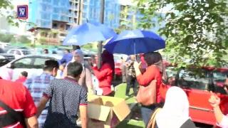 LIVE Sekitar di perkarangan luar Mahkamah Jalan Duta, Kuala Lumpur