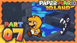 Paper Mario 3D Land - Part 7 - Who Let The Dogs Out! w/Facecam!