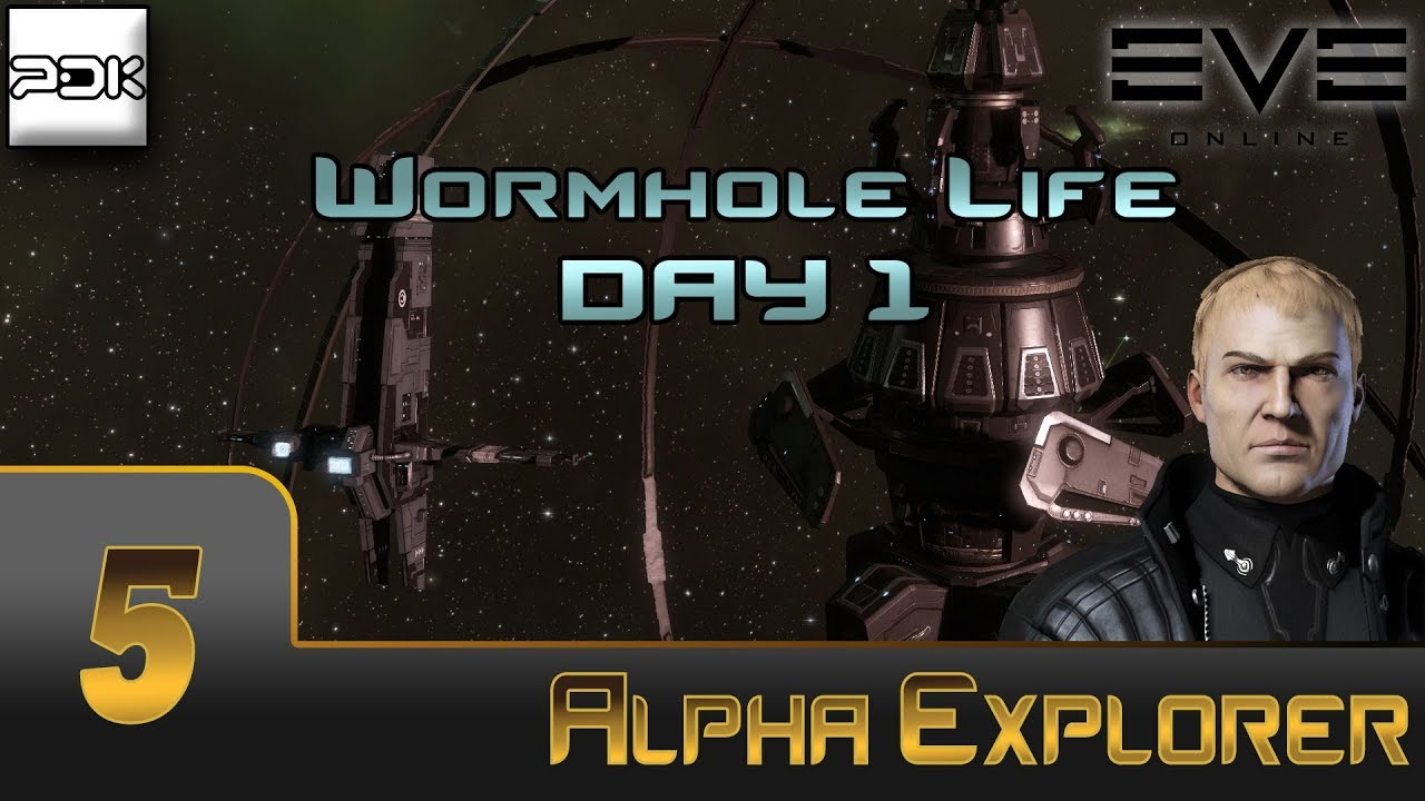 EVE Online: Exploration Alpha #5 - Wormhole Life: Day 1