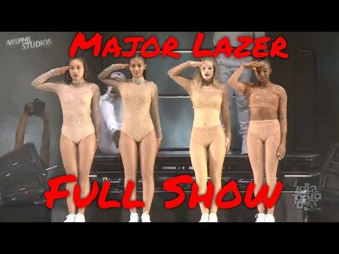 Major Lazer & MØ [LIVE] @ Lollapalooza Festival 2016 Chicago *FULL SHOW*