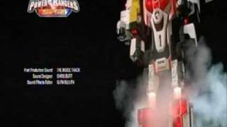 Power Rangers SPD Ending With Dekaranger Theme