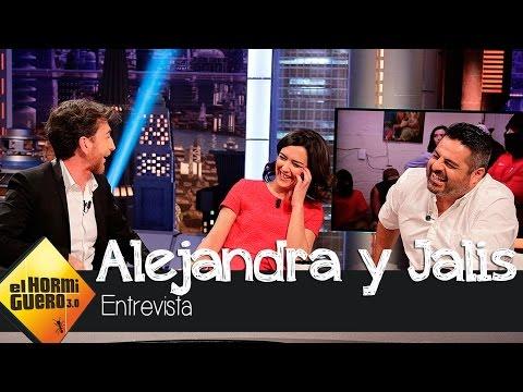 Alejandra Andrade en El Hormiguero 3.0: Me quedé en bragas delante de unos sicarios