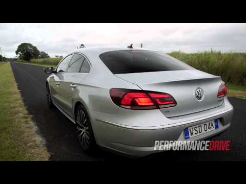 2013 Volkswagen CC 125TDI engine sound and 0-100km/h acceleration
