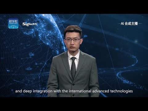 World's first AI news anchor debuts on Chinese news station