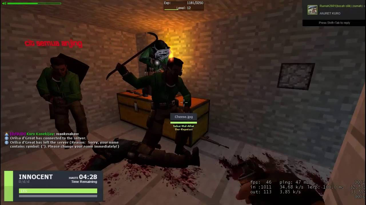 Download Gmod INDO - Trouble Terrorist Town (Daily Biadab) No More Room in T ROOM