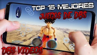 (ESPECIAL 28K) TOP 15 Mejores Juegos de Dragon Ball SUPER para Android 2018