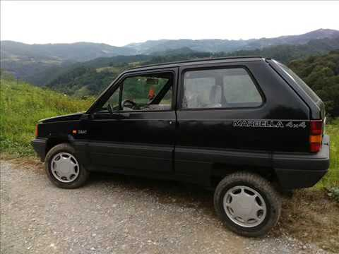 Fiat panda 4x4 seat marbella 3 youtube for Panda 4x4 youtube