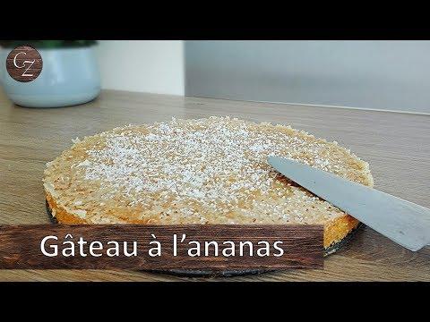 gâteau-à-l'ananas-|-nappage-croustillant-au-sucre.