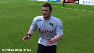 FIFA 13: Fulham Player Faces