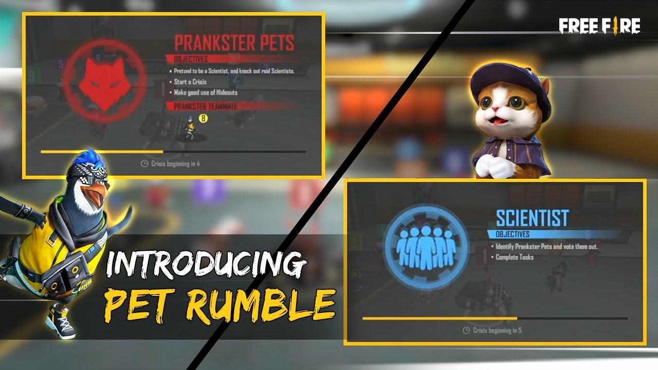 Introducing Pet-Rumble | Garena Free Fire