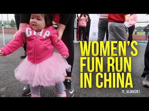 WOMEN's FUN RUN in CHINA