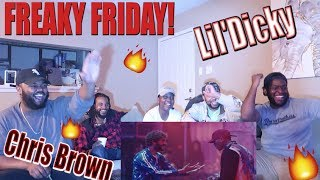 Lil Dicky - Freaky Friday feat. Chris Brown (Official Music Video) *Lit Reaction*| YBC ENT