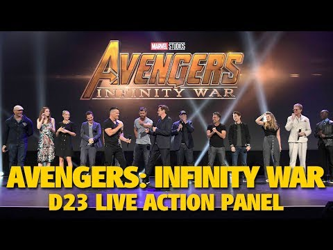 Avengers: Infinity War Marvel Studios Live Action Highlights | D23 Expo 2017