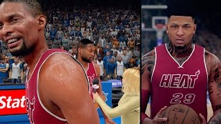 NBA 2K16 MyCAREER - Chris Bosh VIDEO BOMB!! Shawn Gets 20+ ASSIST!!