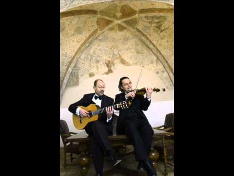 "Nikolai Rimsky, Oriental Dance form ""Scheherazade"" - Jochen Brusch, violin; Finn Svit, guitar"
