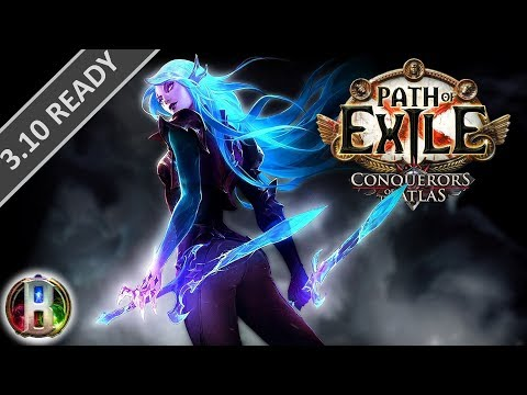 Path Of Exile 3.10 - Cold Ethereal Knives Build - Elementalist Witch -  Delirium PoE 2020